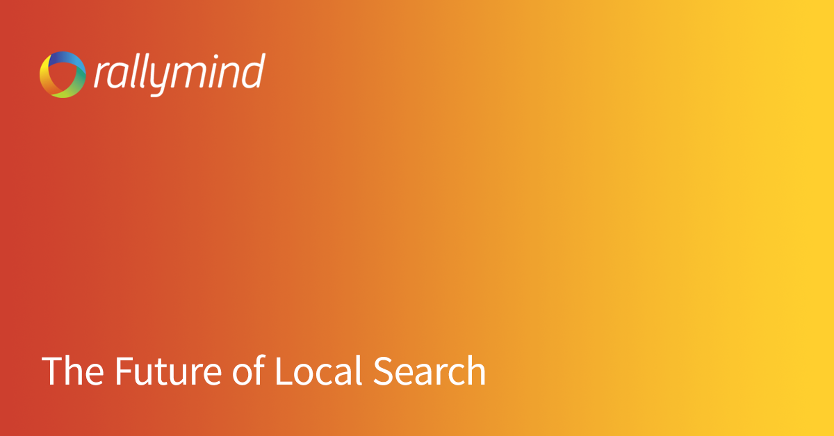 The Future of Local Search