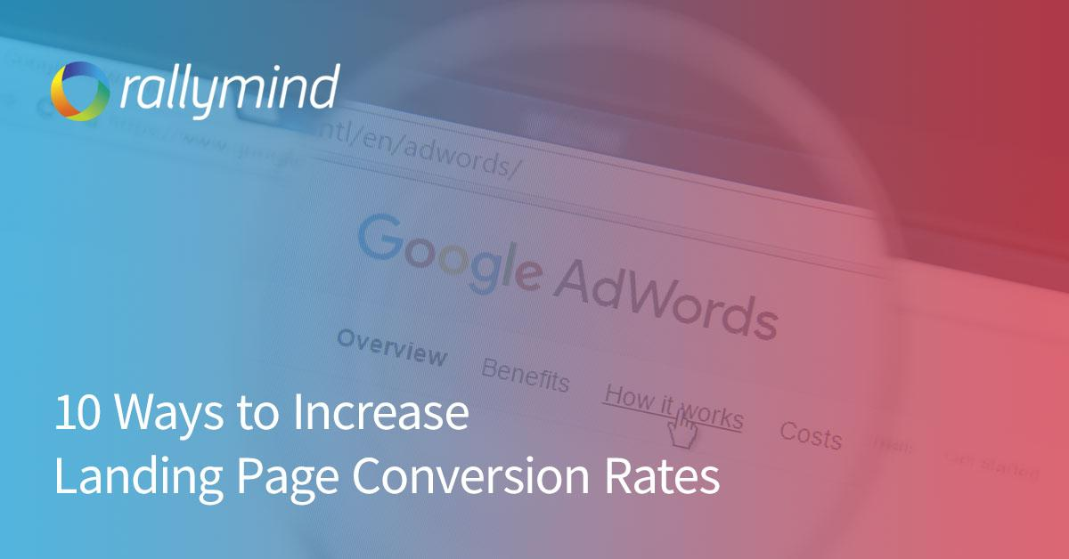 Increat Landing Page Conversion Rates